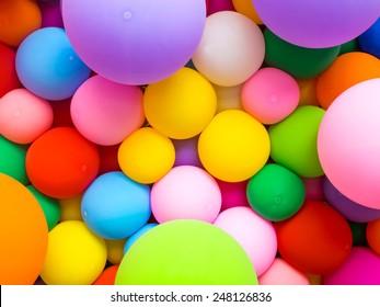 colorful decorative balloon