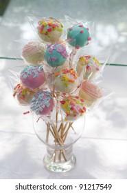 Colorful delicious lollipop