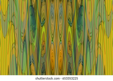Colorful digital abstract with wavy lines.