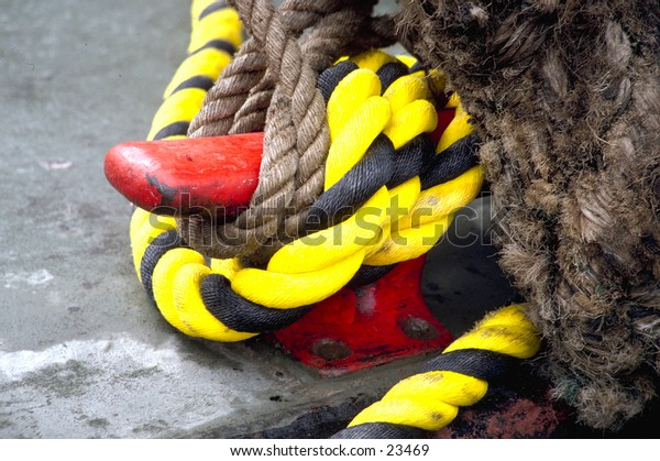 Colorful dock cleat