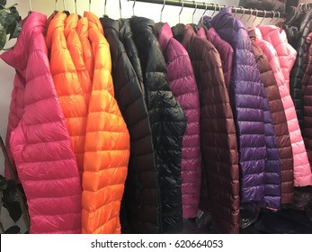 Colorful Down Jacket