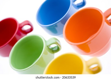 Colorful Espresso Mugs