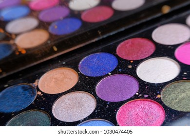 Colorful Eye Shadow Makeup Products