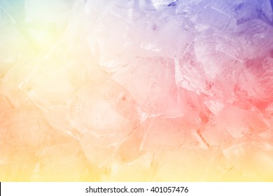 Colorful Fantasy Ice background.