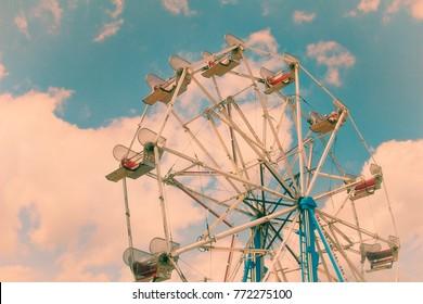 A Colorful Ferris Wheel