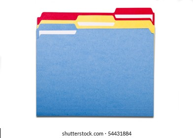 Colorful File Folders