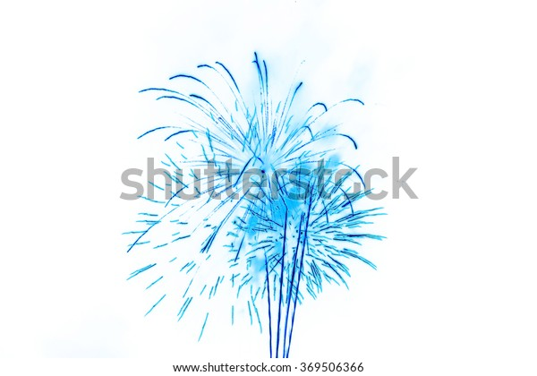 colorful firework Background for display or montage products