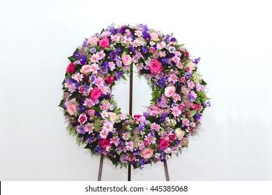 Funeral Wreath Images Stock Photos Vectors Shutterstock