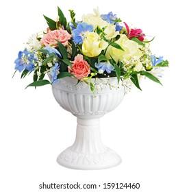 Lily Blue Flowers Vase Images Stock Photos Vectors Shutterstock