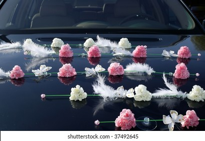 500 Wedding Car Decoration Pictures Royalty Free Images Stock