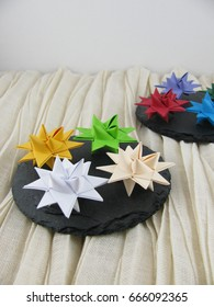 Colorful Froebel Stars