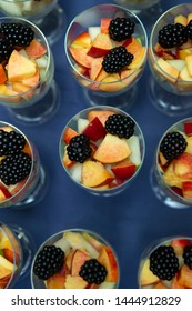 Colorful fruits selected and served for refreshment and celebration