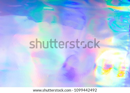 colorful funky fantasy abstract holographic background stock photo