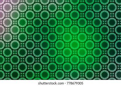 Colorful Geometric Pattern Background