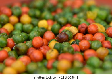 Colorful Gram grated