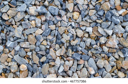 Colorful gravel texture for background