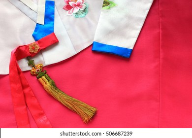 The colorful Hanbok, Korean traditional silk dress & ornaments for women.
