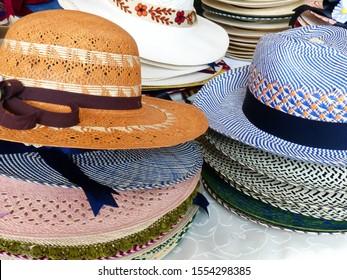 Black Jungle Sombrero de Paja Varadero Panama Sombrero Natural