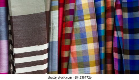 Colorful handwoven cloth