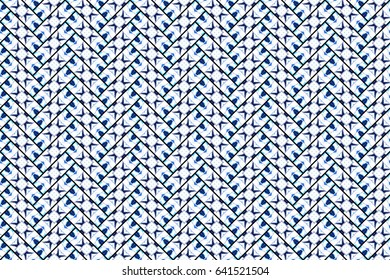 Colorful herringbone pattern for textile, design and backgrounds