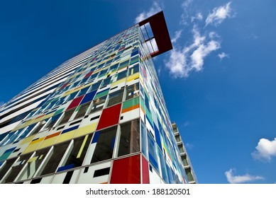 colorful high-rise