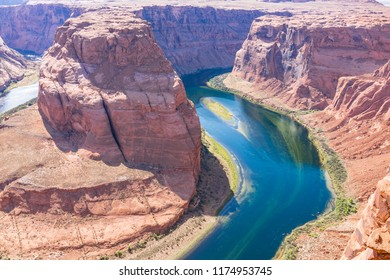 Colorful Horseshoe bend