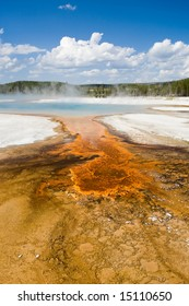 Colorful Hot Spring
