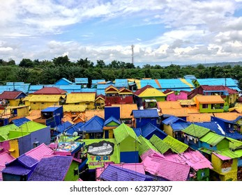The Colorful Houses of Kampung Warna Warni in Jodipan Village, Malang