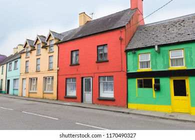 Colorful houses in Kenmare
