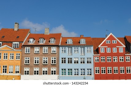 Colorful houses in Nyhavn, Copenhagen
