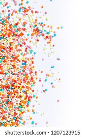 colorful hundred and thousands confectionery