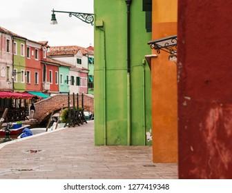 Colorful Island Burano Venice Italy