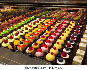Colorful Italian pastries