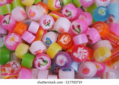 Colorful Japanese candy crafts