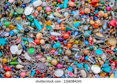 colorful jewelry background