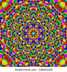 colorful kaleidoscope for children's rooms