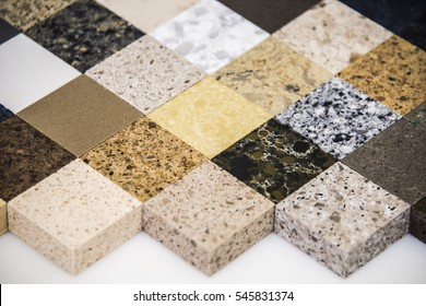 colorful kitchen surfaces made from natural stone granite and marble slabs