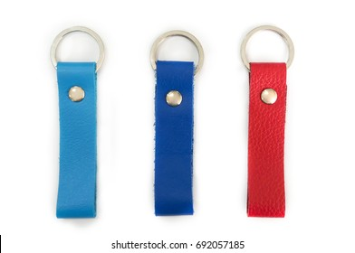 colorful leather key chain designs.