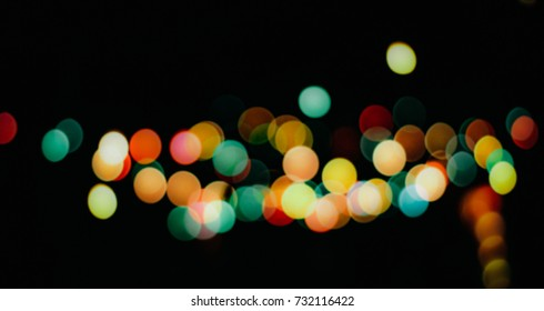 colorful of light