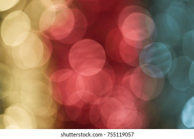 Colorful light Abstract bokeh background. City lights abstract circular bokeh. Abstract bokeh cityscape night light background. Urban city night light bokeh , defocused background.