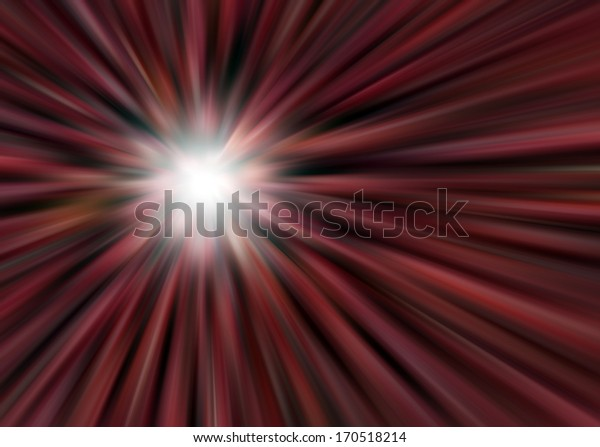 Colorful light rays for background
