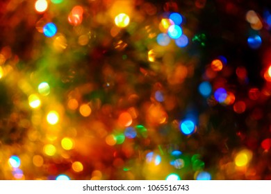 Colorful lights blurred background