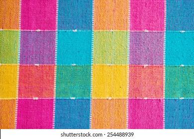 Colorful linen texture background
