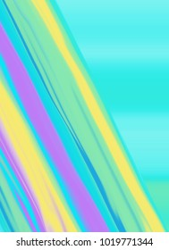Colorful lines, retro background