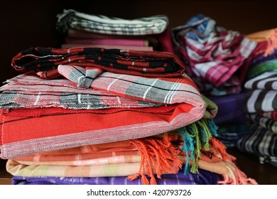 Colorful of loincloth