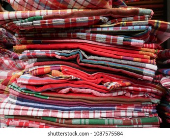 Colorful loincloth,traditional loincloth made from Thai silk,Thai handmade products