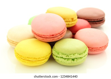 colorful macaroon sweets