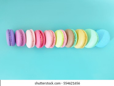 Colorful macaroons/Colorful macaroons