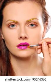 Colorful Make-Up