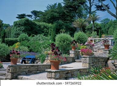 Mediterranean Garden Stock Images RoyaltyFree Images Vectors